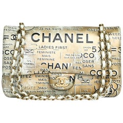 CHANEL Timeless Double Flap Bag Collection 'Coco' in Gilded Leather
