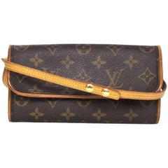 Louis Vuitton Monogram Twin Pochette PM Crossbody Bag