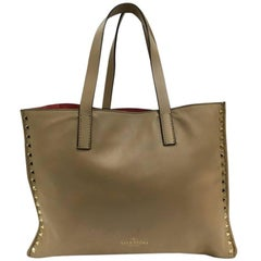 Valentino Rockstud Open Tote Leather Medium