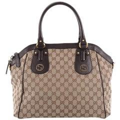 Gucci Scarlett Top Handle Bag GG Canvas Medium