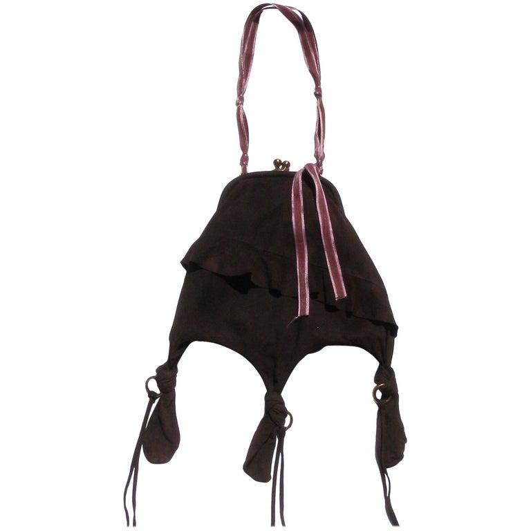 ORIGINAL Miu Miu Suéde Bag / Style Art Déco