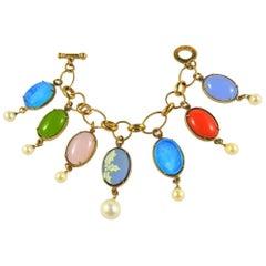 Amazing bronze charm bracelet by Patrizia Daliana