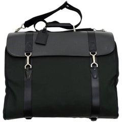 Louis Vuitton Portable Gibeciere Ardoise Taiga Leather Large Garment Travel Bag