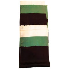 Vintage Scarf - 100% Silk - 1960's