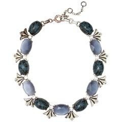 Gerard Yosca Blue Necklace
