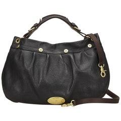 Mulberry Black Leather Shoulder Bag