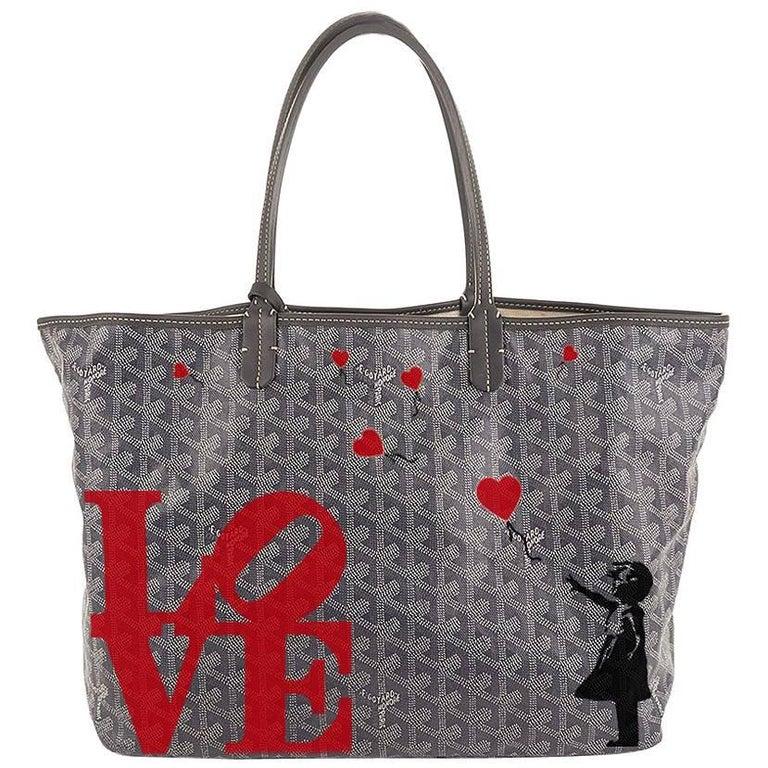 Customised Goyard Monogram St Louis Bag 1