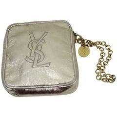 Vintage Yves Saint Laurent Golden Leather Small Evening bag