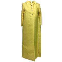 Tefft's of Palm Beach Women's Silk Evening Coat, 1960s