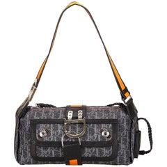 Dior Blue Denim Flight Diorissimo Shoulder Bag