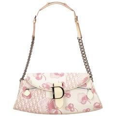 Dior White Diorissimo Trotter Handbag