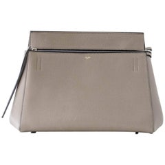 Celine Bag Edge Rich Taupe Silver Hardware