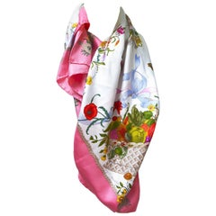 Gucci Pink Insect Scarf by V.A. CCornero