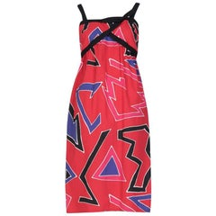 Bill Tice Graphic Print Sundress