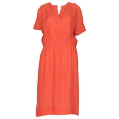 Vintage Summer Elasticized-Waist Dress