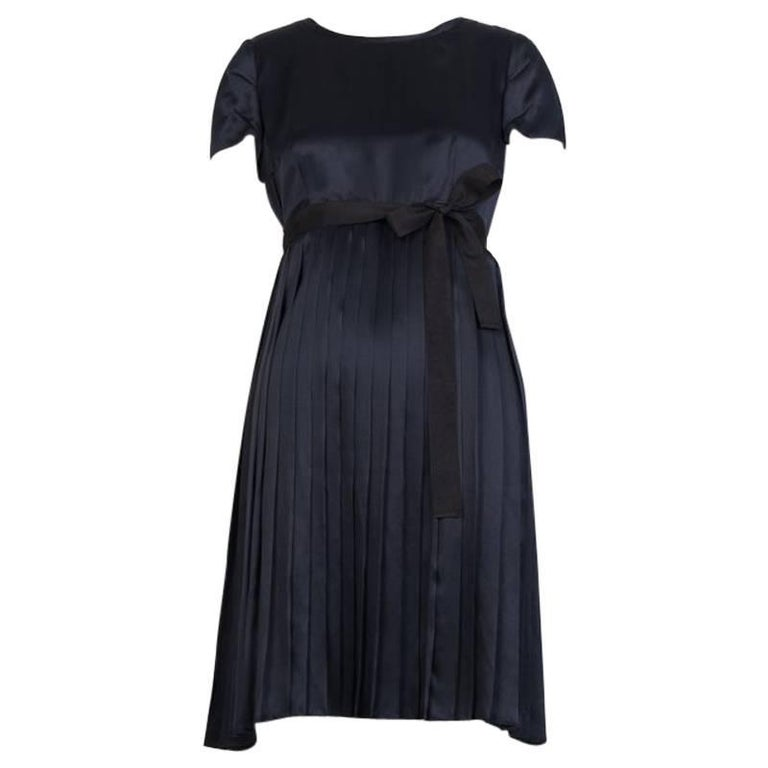 JIL SANDER NAVY Empire Dress