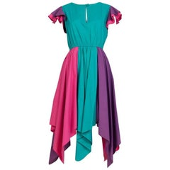 Giorgio Sant Angelo Elasticized-Waist Jester Dress
