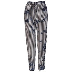 Raquel Allegra Tie-Dyed Drawstring Trousers