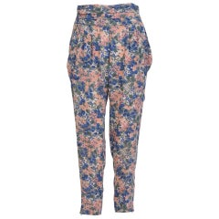 Comptoir des Cotonniers Floral Pleated Trousers