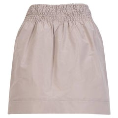 Miu Miu Technical Fabric Short Skirt