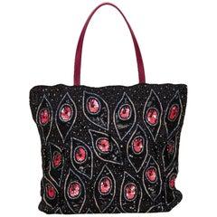 Valentino Multi Colour Sequin Embellished Tote Bag