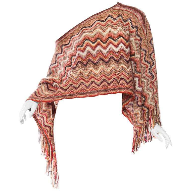 Missoni Iconic Zig-Zag Knit Shawl