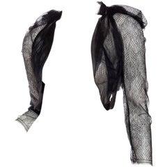 Silk and Lace Deconstructed Bolero Shrug by Sharon Wauchob