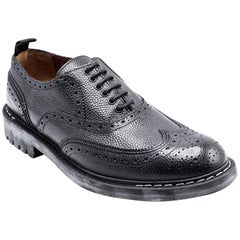 Givenchy Men's Black Leather Oxfords