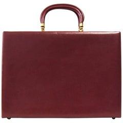 1970s Pierre Cardin Leather Briefcase