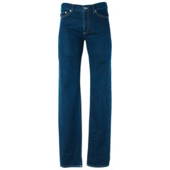 Givenchy Men's Medium Blue W/ Star Accent Denim Jeans