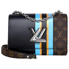Louis Vuitton Limited Edition Monogram/Black Heroine Jackets Twist MM Bag