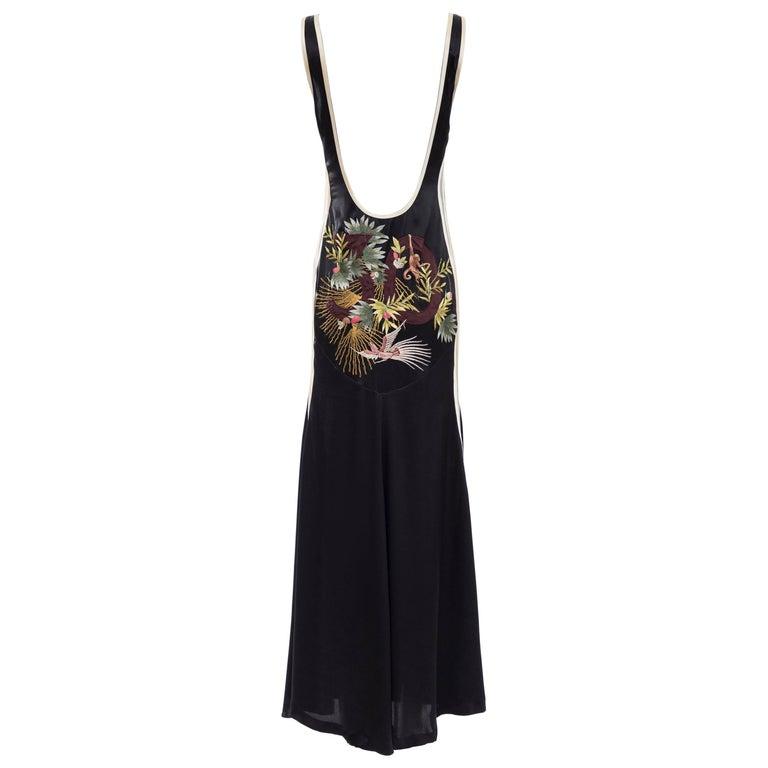 Jean Paul Gaultier Silk Embroidered Evening Dress, Spring 2007 1