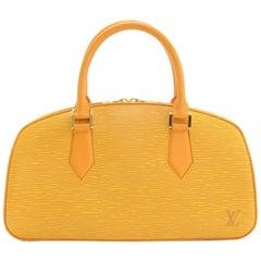 Louis Vuitton Jasmin Yellow Epi Leather Hand Bag