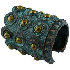 Vintage Runway Bracelet Cuff