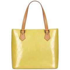 Louis Vuitton Yellow Vernis Houston
