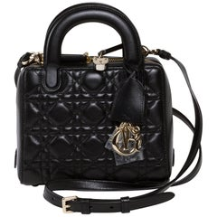 Dior Lily Black Leather New Never Worn Bag