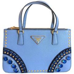 PRADA Bijoux Saffiano Jewels Hand Bag