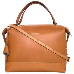 8/9 Dooney & Bourke Tan Leather Bowler Bag