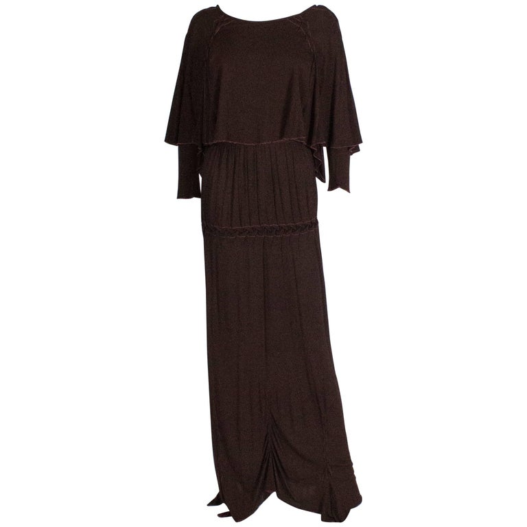 Bruce Oldfield Brown Gown