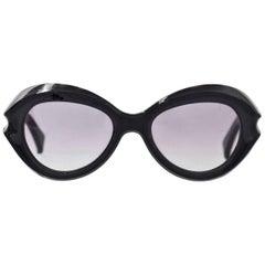 Marni Navy & Tortoise Sunglasses with Case