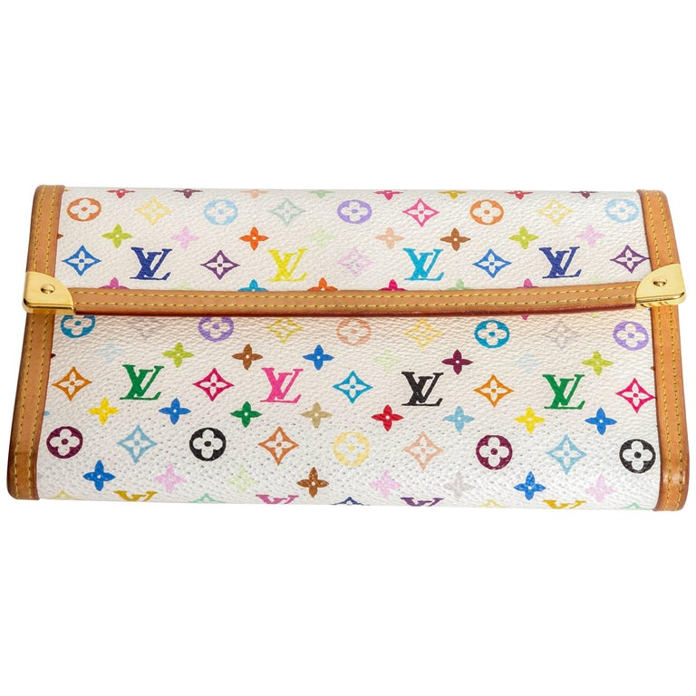 Louis Vuitton  Monogram Multicolore Porte-Tresor International Wallet