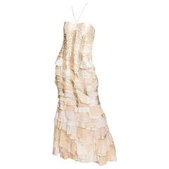 Carolina Herrera Silk Evening Gown - 10