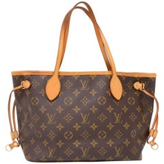 Louis Vuitton Neverfull PM Monogram Canvas Shoulder Tote Bag