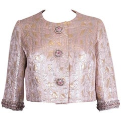 Pink, Gold and Silver jacket by Neymar Couture