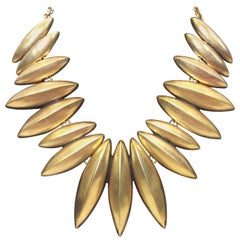 Oscar De La Renta Oval Statement Necklace