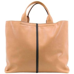Reed Krakoff Tan Track Shopper Tote
