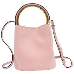 Marni Pink Pannier Bucket Bag