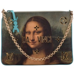 New in Box Louis Vuitton by Koons Mona Lisa Pouchette Bag