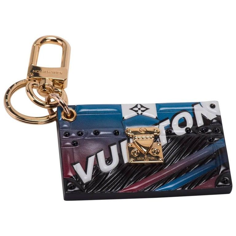 Louis Vuitton Limited Edition Trunk Bag Charm