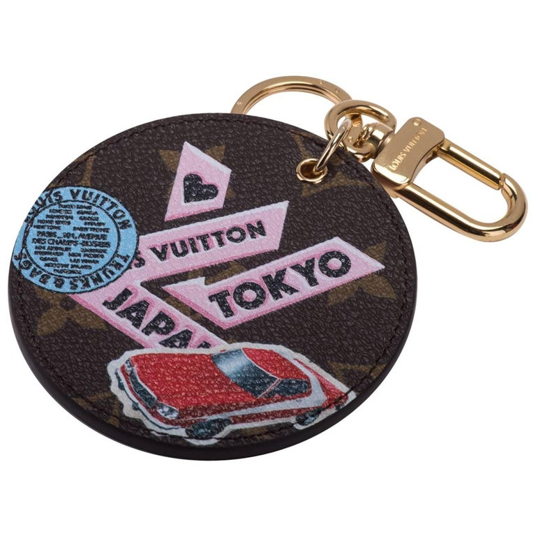 Louis Vuitton Limited Edition Tokyo Monogram Bag Charm